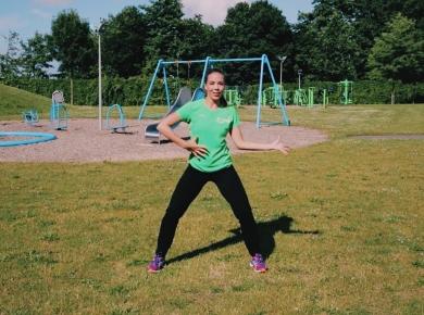 Dansen met Kyra van Leeningen