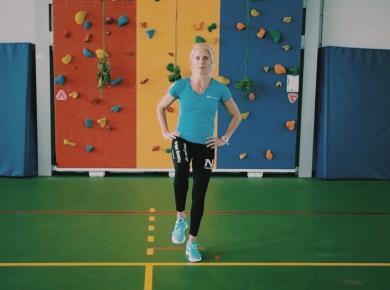 Balans – en boksbewegingen met Krista Fleming